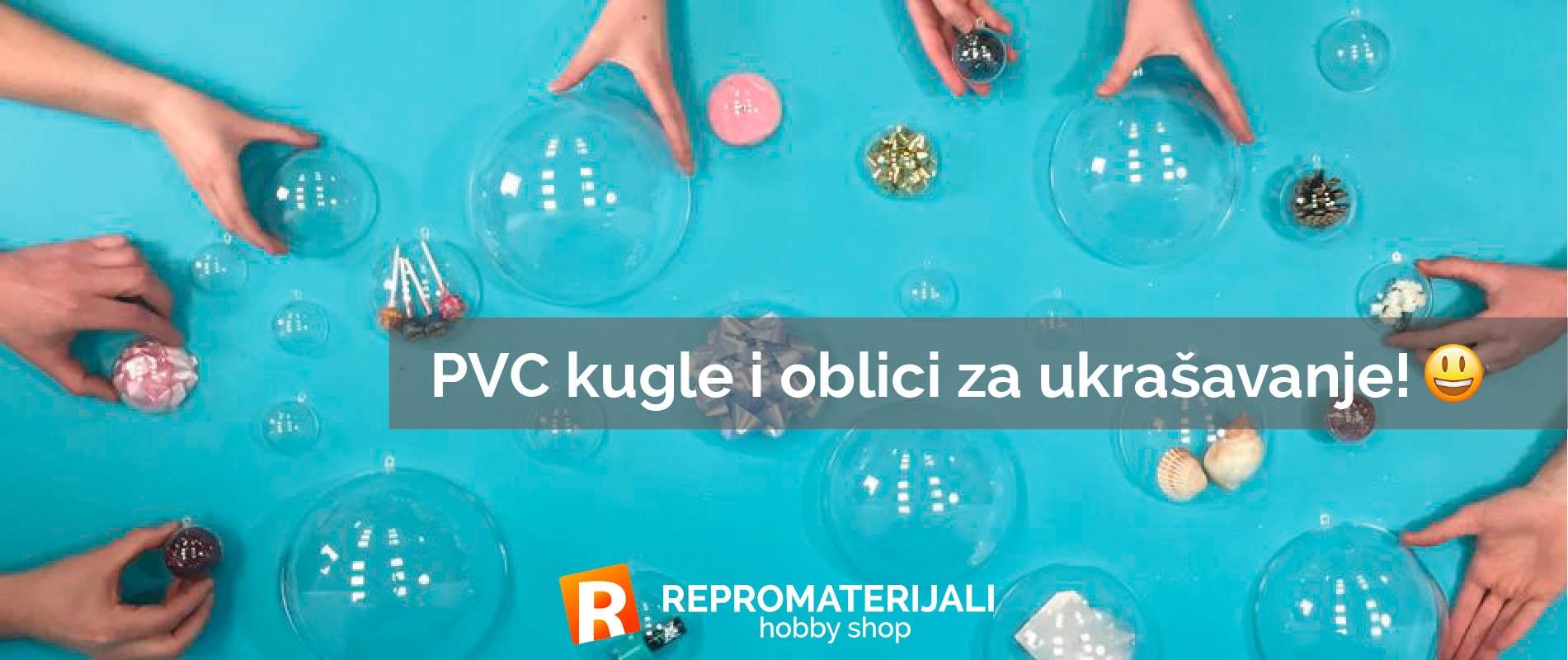 PVC kugle i oblici