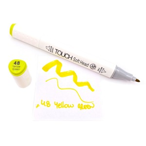 Grafički marker touch - 48 Yellow Green