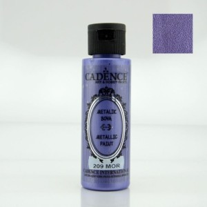 209 Purple 70ML Metalik Boya