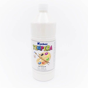 BIJELA TEMPERA - KARBON 1000mL